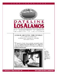 Dateline : Los Alamos; June 1998 Volume June 1998 by Coonley, Meredith