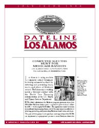 Dateline : Los Alamos; July 1996 Volume July 1996 by Coonley, Meredith