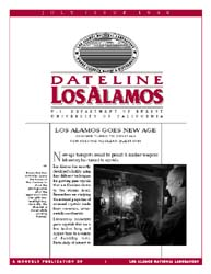Dateline : Los Alamos; July 1998 Volume July 1998 by Coonley, Meredith
