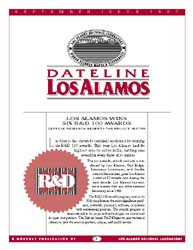 Dateline : Los Alamos; September 1997 Volume September 1997 by Coonley, Meredith