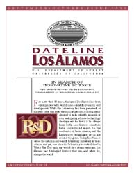 Dateline : Los Alamos; September 1999 Volume September 1999 by Coonley, Meredith