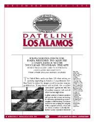 Dateline : Los Alamos; December 1995 Volume December 1995 by Coonley, Meredith