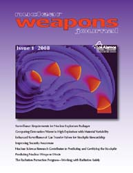 Nuclear Weapons Journal (Nwj); Issue 1; ... Volume Issue 1; 2008 by Burgess, Margaret