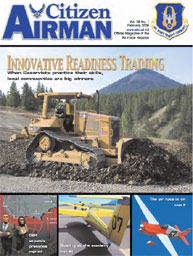Citizen Airman Magazine; February 2006 Volume 58, Issue 1 by Tyler, Cliff