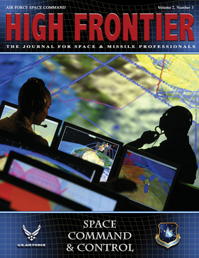 High Frontier Journal : Space Command an... by Adams, Lt. Col Marcella
