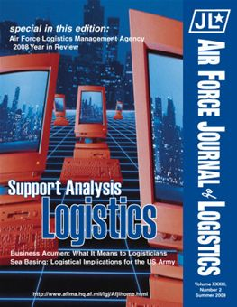 Air Force Journal of Logistics : 2008 Volume 33, Issue 2 by Rainey, James C.