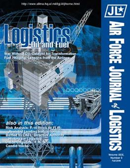 Air Force Journal of Logistics : 2005 Volume 30, Issue 3 by Rainey, James C.
