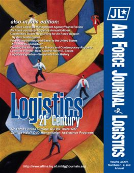 Air Force Journal of Logistics : 2009 Volume 34, Issues 1 & 2 by Rainey, James C.