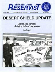 The Reservist Magazine : January 1991 by Kruska, Edward J.