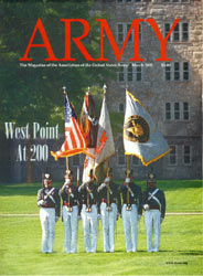 Army Magazine : March 2002 Volume 52, Issue 3 by French, Mary Blake
