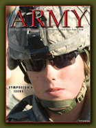 Army Magazine : March 2008 Volume 58, Issue 3 by French, Mary Blake