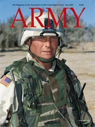 Army Magazine : July 2002 Volume 52, Issue 7 by French, Mary Blake