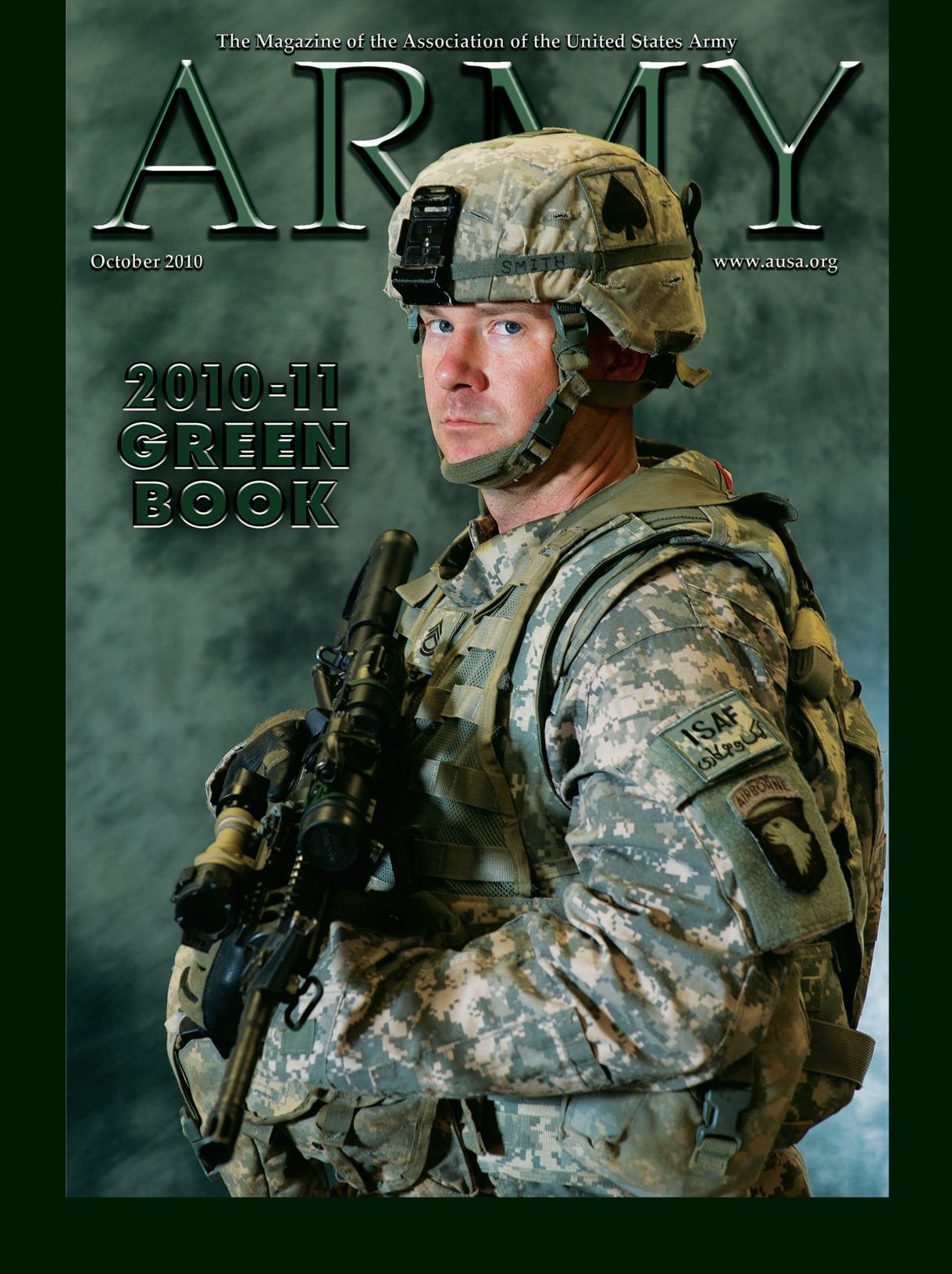 Army Magazine : October 2010 Volume 60, Issue 10 by French, Mary Blake