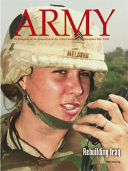 Army Magazine : November 2003 Volume 53, Issue 11 by French, Mary Blake