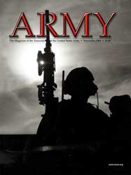 Army Magazine : November 2004 Volume 54, Issue 11 by French, Mary Blake