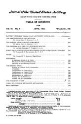 Coast Artillery Journal; June 1922 Volume 56, Issue 6 by Clark, F. S.
