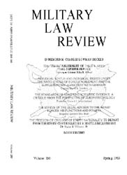 Military Law Review : April 1983 ; Volum... by Department of the Army, Headquarters