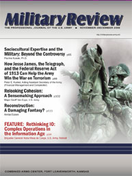Miltary Review : November-December 2008 Volume November-December 2008 by Smith, John J.