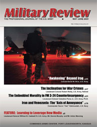 Miltary Review : May-June 2009 Volume May-June 2009 by Smith, John J.