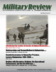 Miltary Review : November-December 2010 Volume November-December 2010 by Smith, John J.