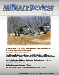 Military Review : May-June 2011 Volume May-June 2011 by Smith, John J.