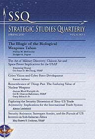 Strategic Studies Quarterly : Volume 4, ... by Guillot, W. Michael