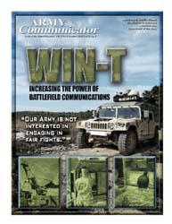 Army Communicator; Summer 2007 Volume 32, Issue 3 by Edmond, Larry