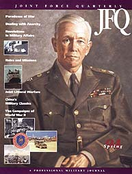 Joint Force Quarterly (Jfq) : Issue 4; S... Volume Issue 4 by Ellason, William T.