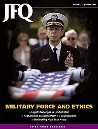 Joint Force Quarterly (Jfq) : Issue 54; ... Volume Issue 54 by Ellason, William T.