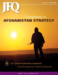 Joint Force Quarterly (Jfq) : Issue 56; ... Volume Issue 56 by Ellason, William T.