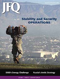 Joint Force Quarterly (Jfq) : Issue 57; ... Volume Issue 57 by Ellason, William T.