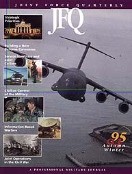 Joint Force Quarterly (Jfq) : Issue 6; A... Volume Issue 6 by Ellason, William T.