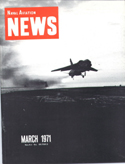 Naval Aviation News : March 1971 Volume March 1971 by U. S. Navy