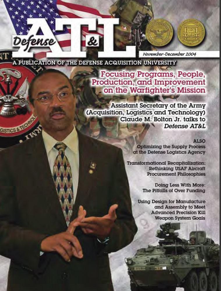 Defense at & L Magazine : November-Decem... Volume November-December 2004 by Greig, Judith M.