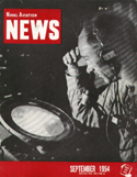 Naval Aviation News : September 1954 Volume September 1954 by U. S. Navy