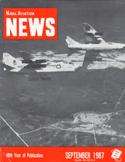 Naval Aviation News : September 1967 Volume September 1967 by U. S. Navy