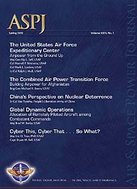 Air and Space Power Journal : Spring 201... Volume 24, Issue 1 by Cain, Anthony C.