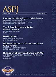 Air and Space Power Journal : Summer 201... Volume 24, Issue 2 by Cain, Anthony C.