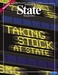 State Magazine : Issue 464 ; December 20... Volume Issue 464 by Wiley, Rob