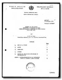 World Health Organization : Regioinal Of... by Le. M. Blane