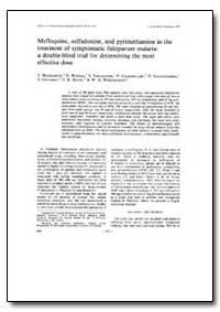 Bulletin of the World Health Organizatio... by T. Harinasuta