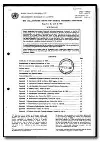World Health Organization : Year 1993 ; ... by M. Westermark