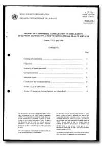 World Health Organization : Year 1996 ; ... by P. Feenstra, Dr.
