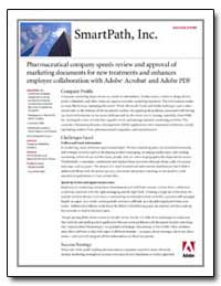 Smartpath, Inc. : Pharmaceutical Company... by Adobe Systems