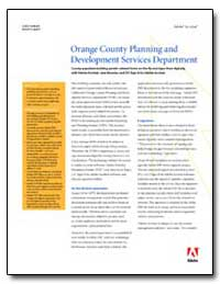 Orange County Planning and Development S... by Adobe Systems