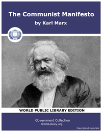 Communist Manifesto by Marx, Karl