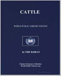 The Noble Koran (Quran) : Cattle by Transcribed  the Prophet Muhammad