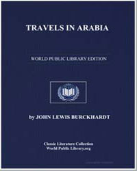 Travels in Arabia by Burckhardt, John Lewis