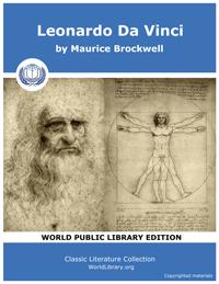 Leonardo Da Vinci by Brockwell, Maurice Walter