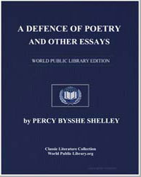 A Defence of Poetry and Other Essays by Shelley, Percy Byssche